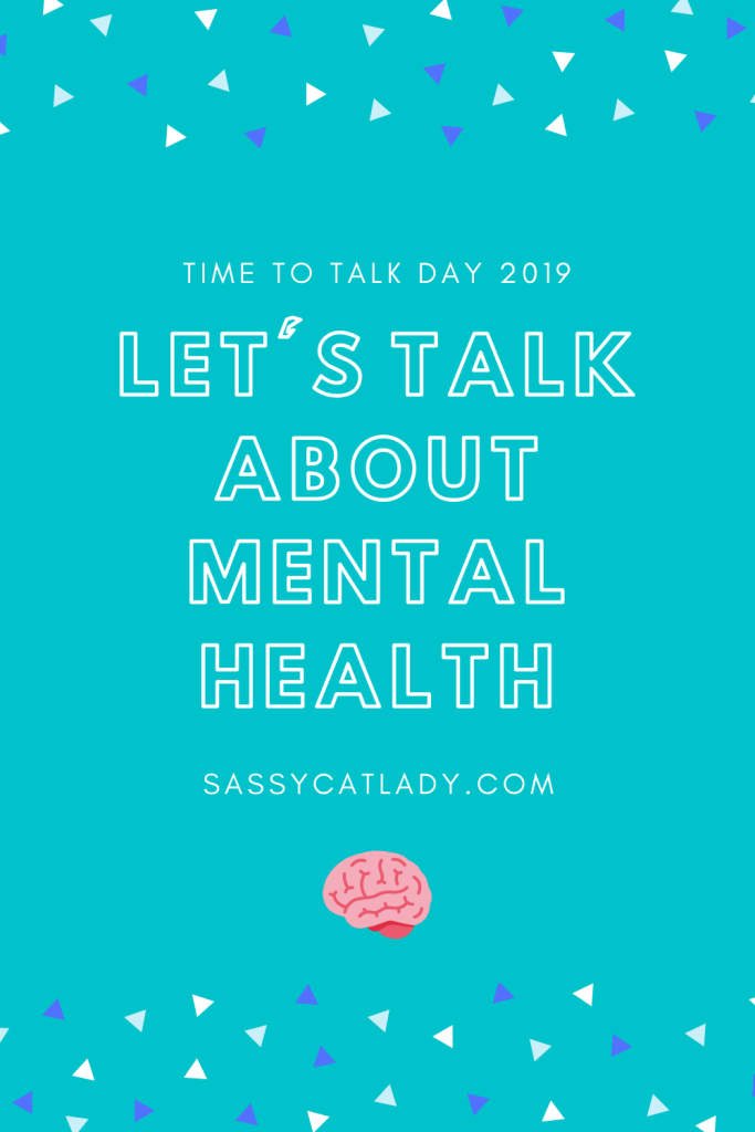Let's Talk About Mental Health - Time to Talk Day 2019