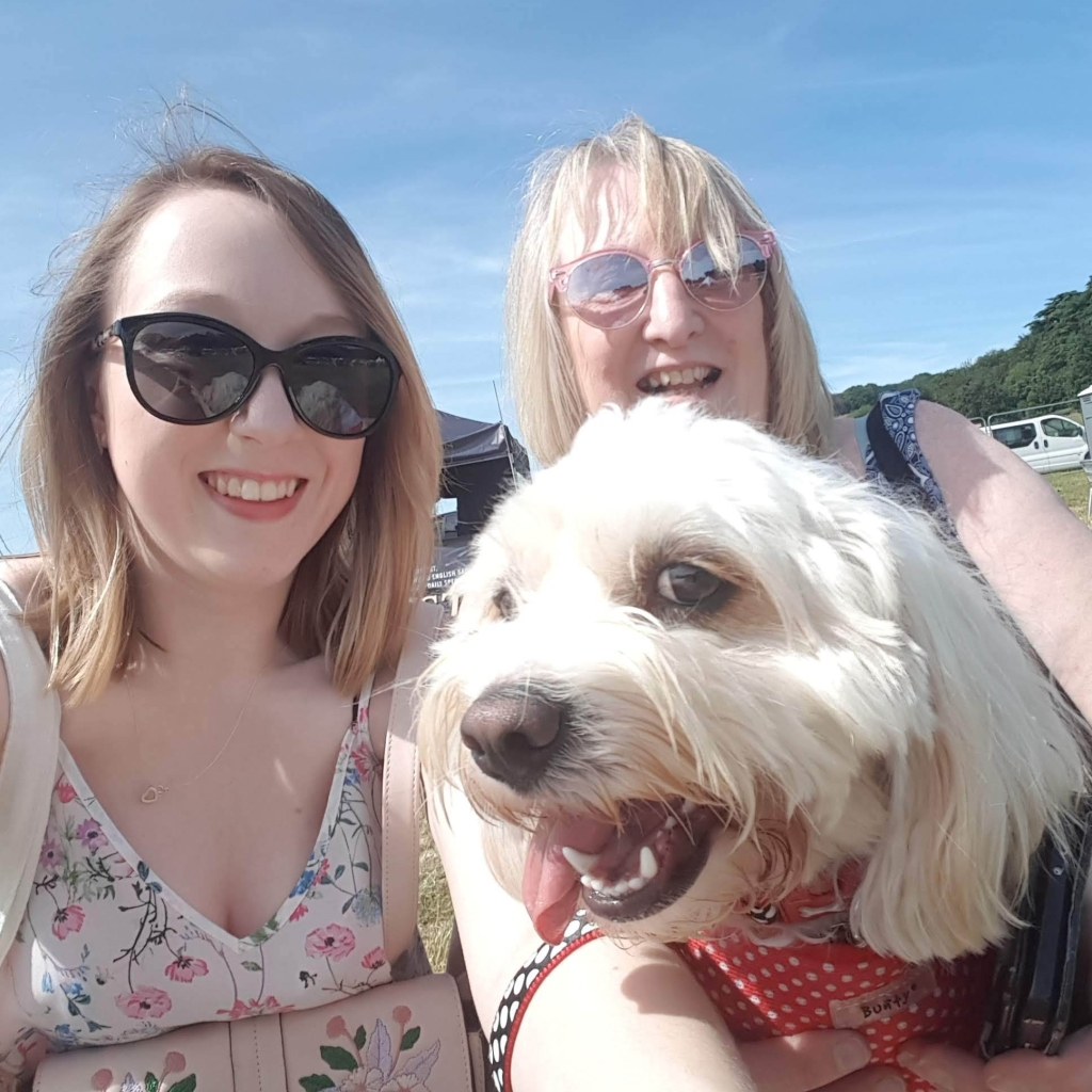 Me, Mama J & Daisy at DogFest 2018
