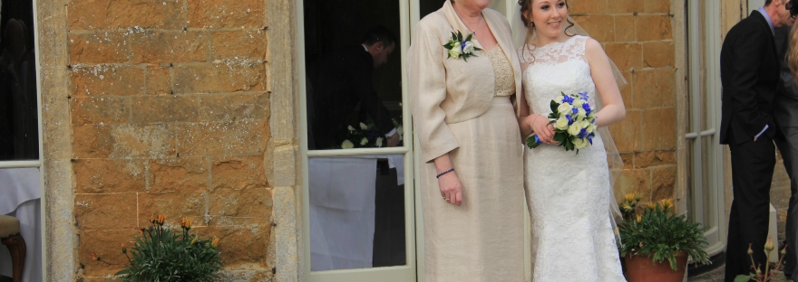 Me & Mum on My Wedding Day