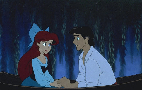 Ariel & Eric in The Little Mermaid