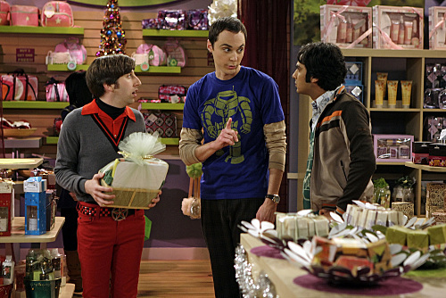 The Big Bang Theory - S2E11 - The Bath Item Gift Hypothesis
