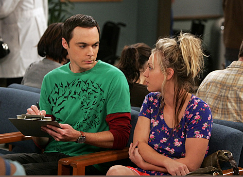 Big Bang Theory - S3E8 - The Adhesive Duck Deficiency