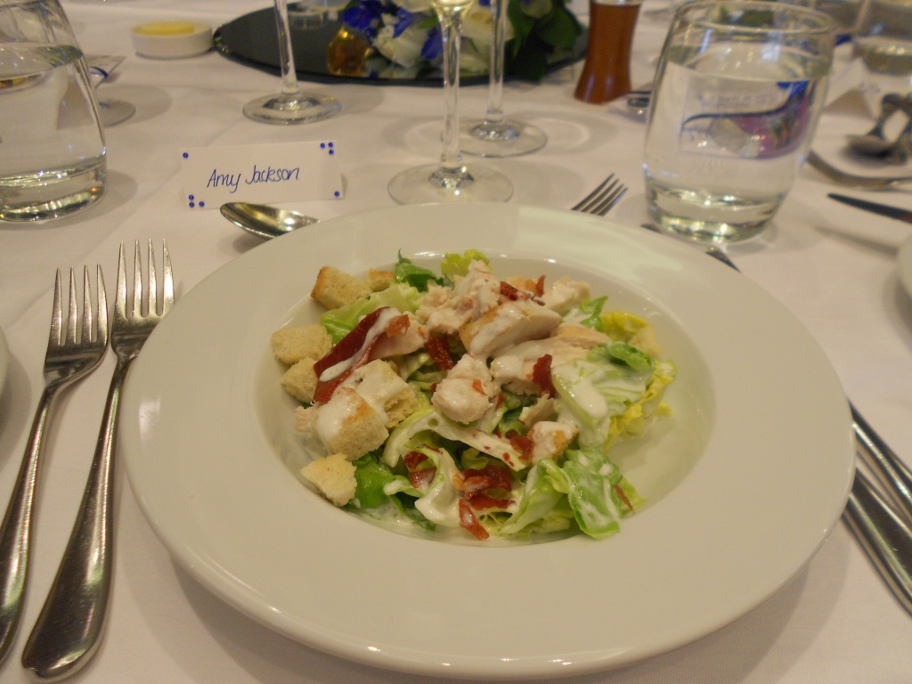 Chicken & Bacon Salad from Our Wedding Breakfast