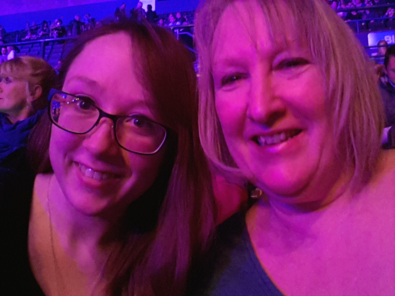 Me & Mum at Michael Buble