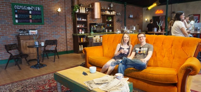 Me & Liam in Central Perk at FriendsFest