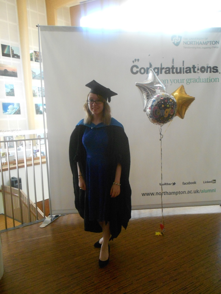 Me on Graduation Day - 17th July 2013