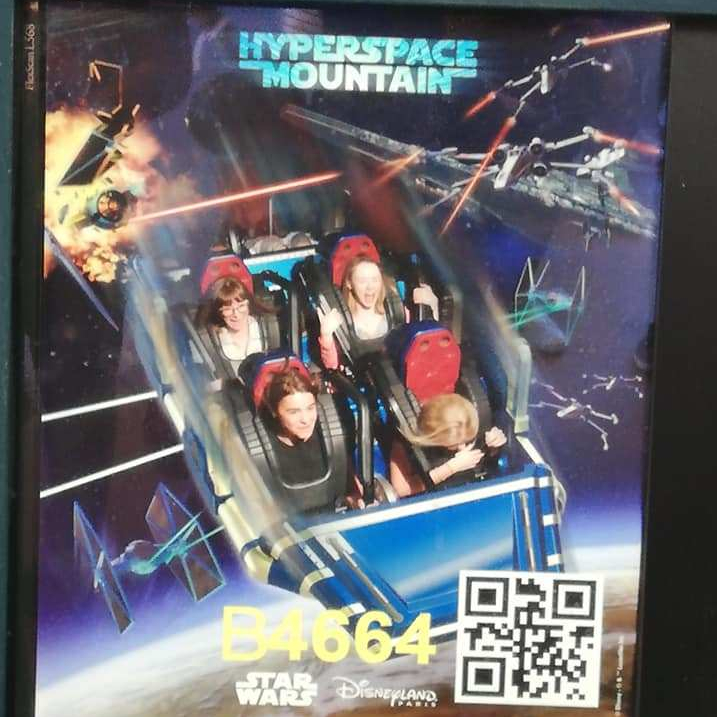 Space Mountain Photo