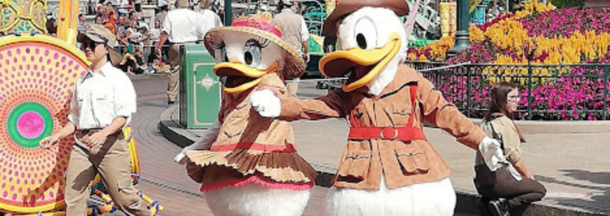 Donald & Daisy Duck