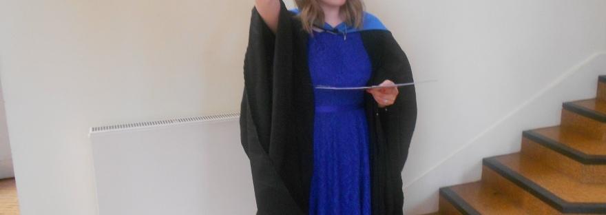 Me at Graduation Post Ceremony