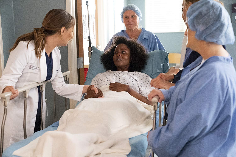 Shot From Grey's Anatomy S15E19