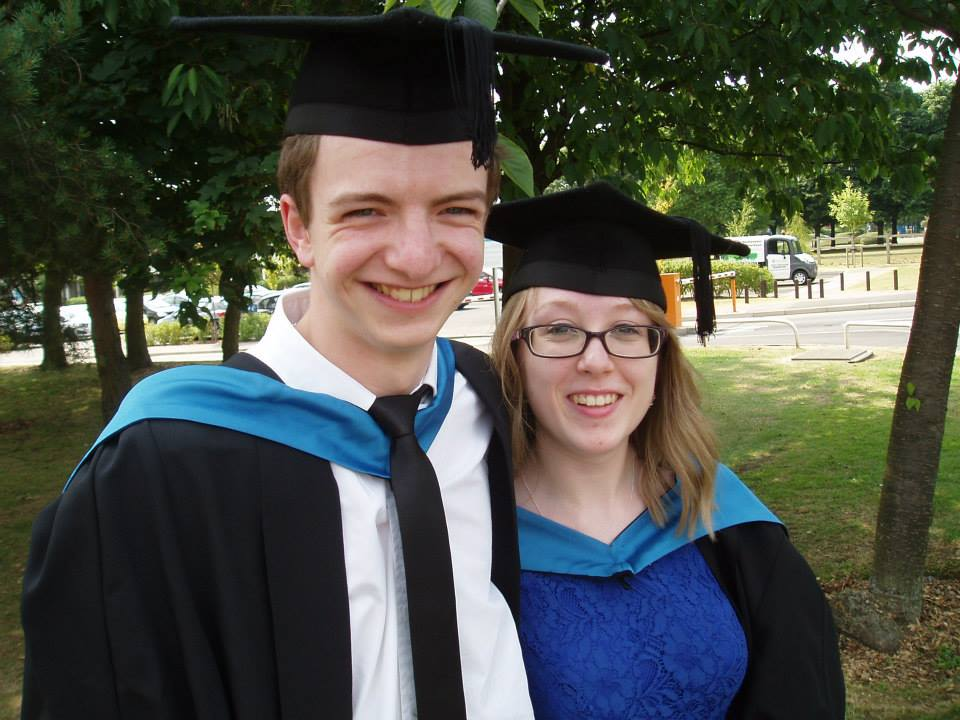 Me & Liam at Graduation - July 2013