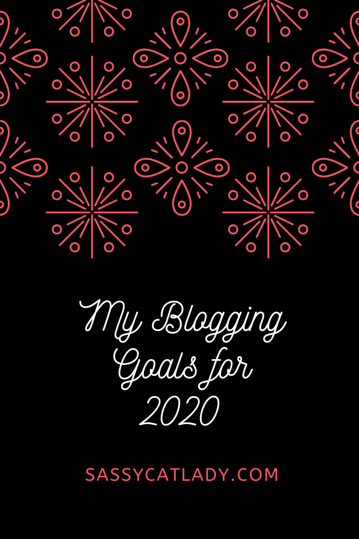 Blogging Goals for 2020 Graphic