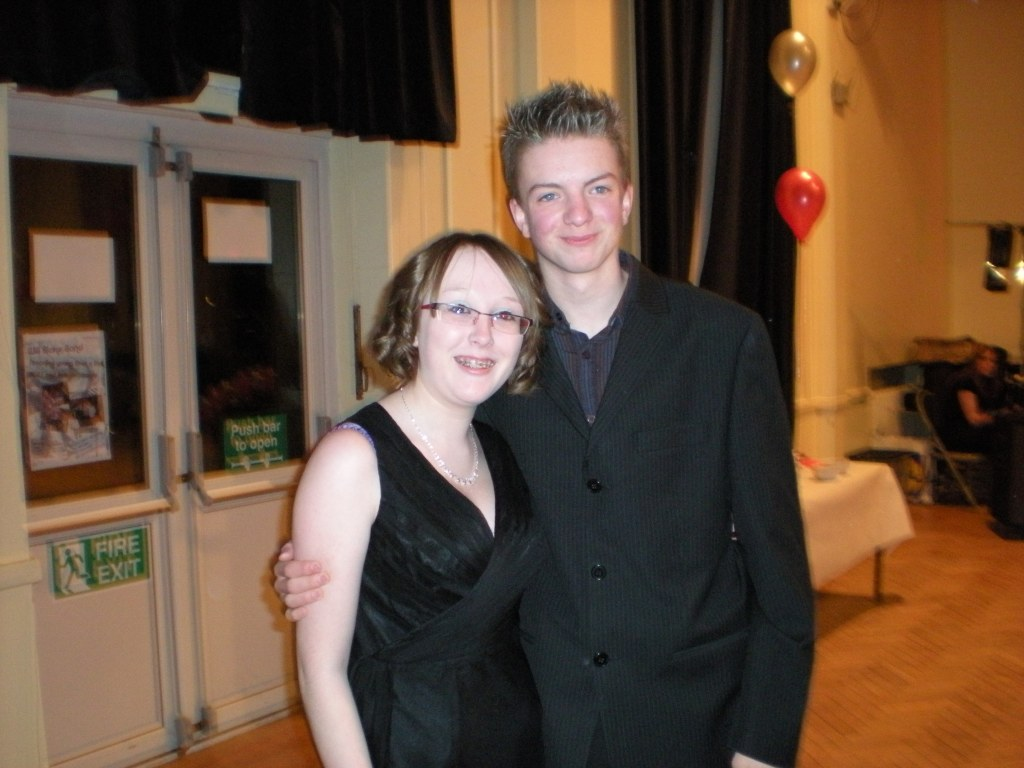 Me & Liam at the Valentine's Ball - Feb 2009
