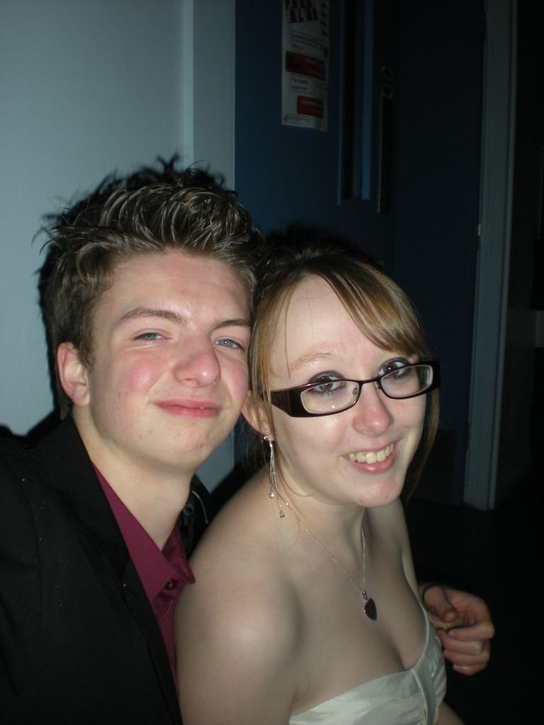 Me & Liam at the Freshers' Ball - Oct 2010