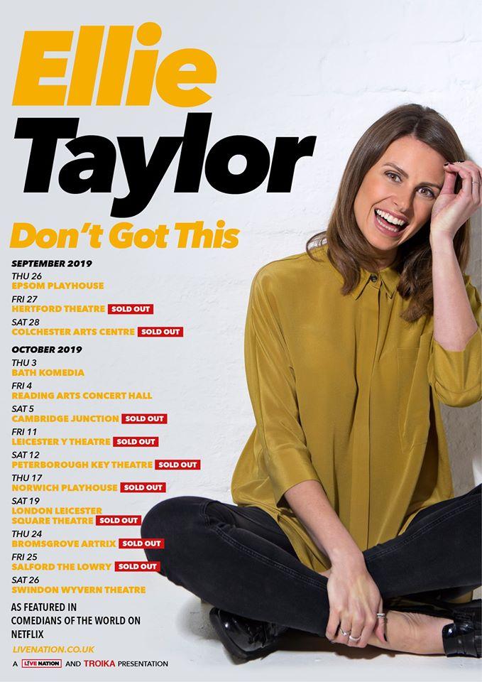 Ellie Taylor - Don't Got This Tour Poster