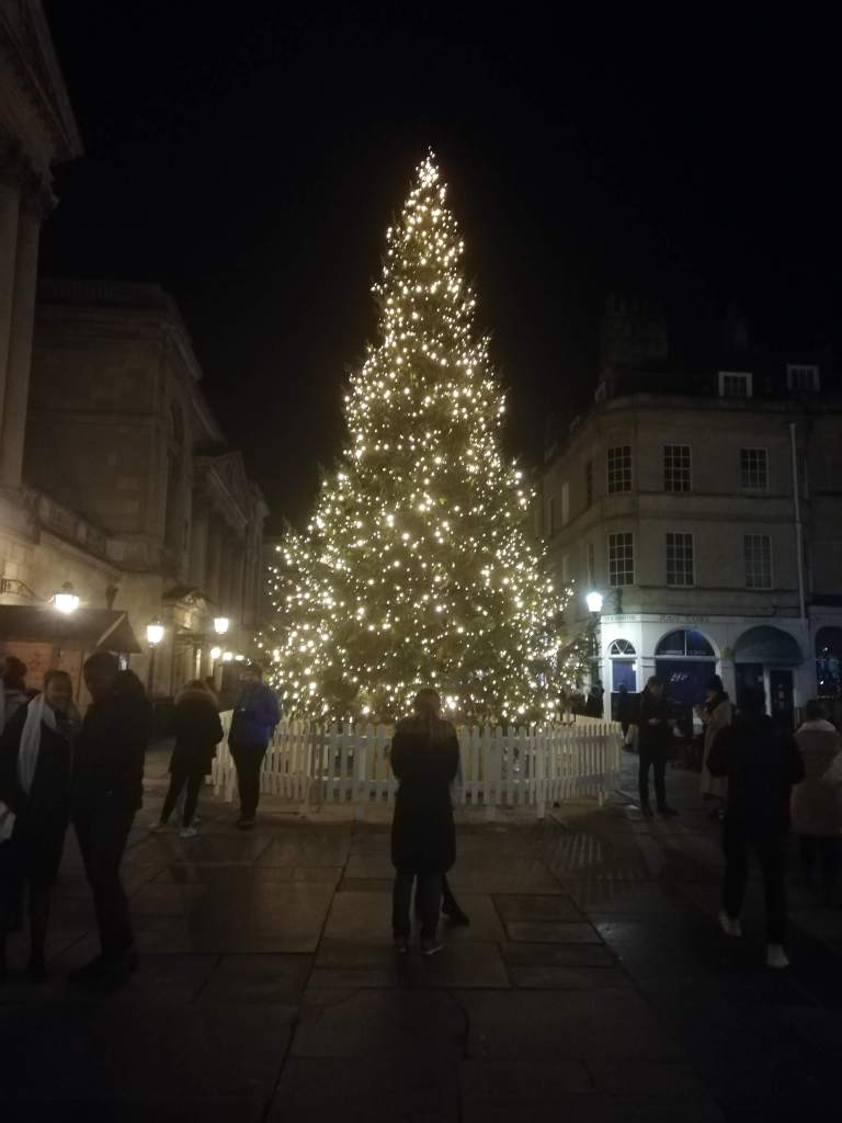 Christmas Tree at Bath Christmas Market