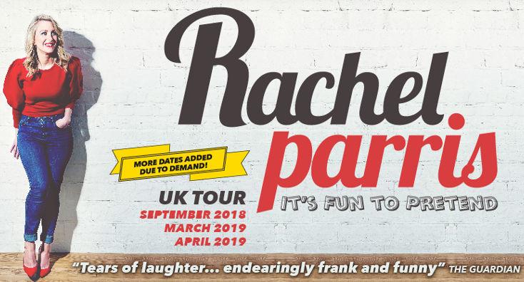 Rachel Parris: It's Fun to Pretend Tour Poster