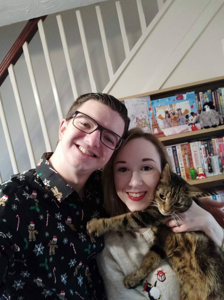 Me, Liam & Tilly - Christmas Day 2019