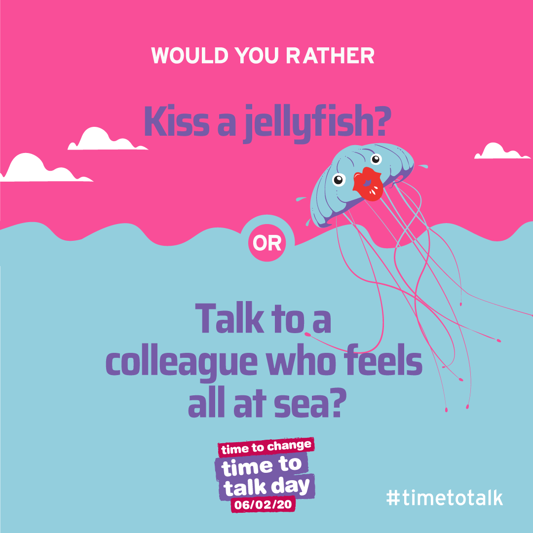 Time to Talk Day 2020 Graphic