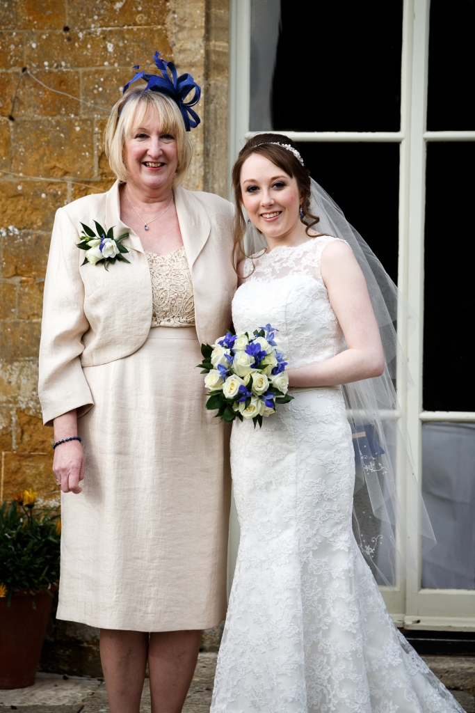 Me & Mum on My Wedding Day