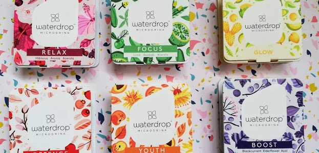 Waterdrop Flavours