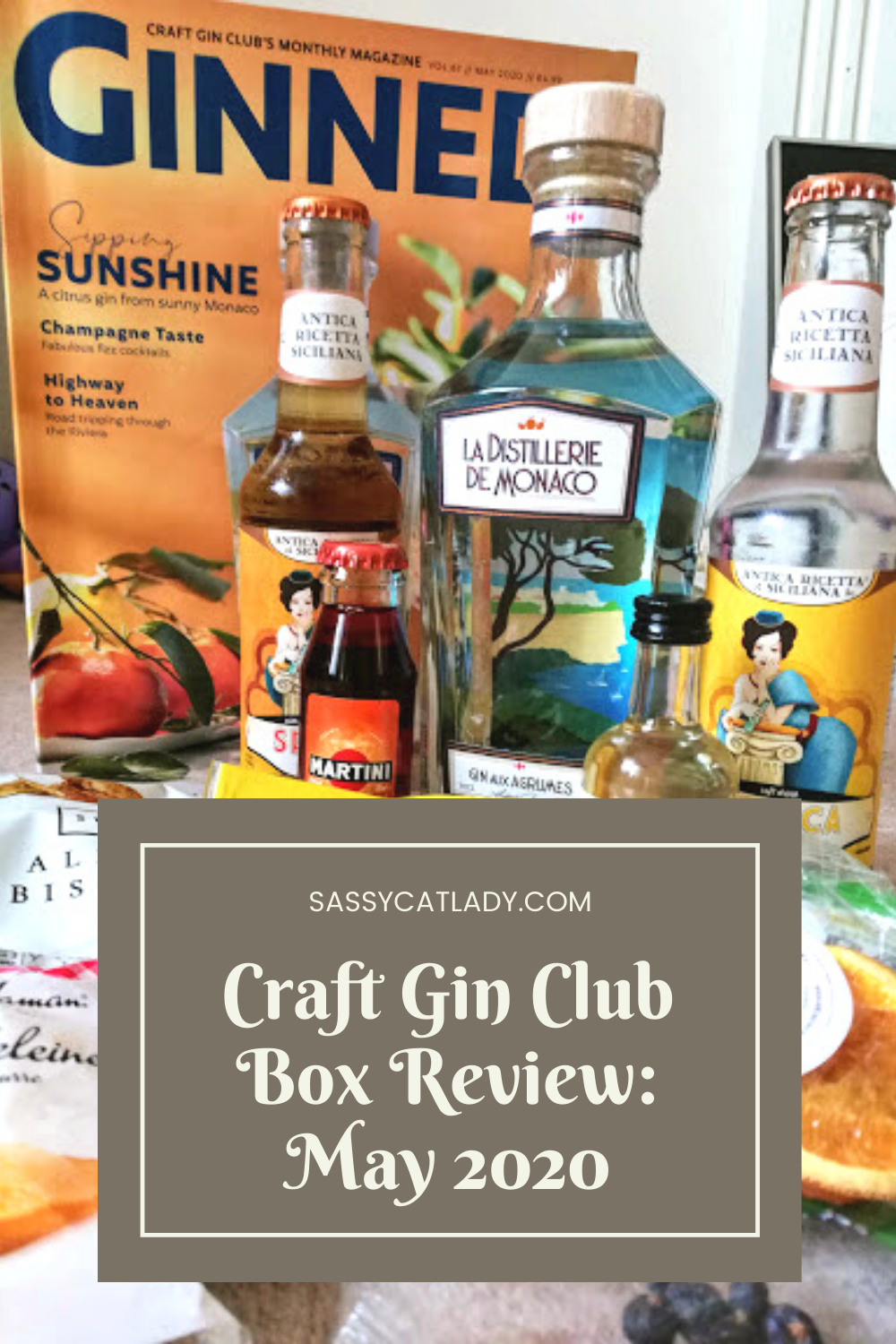 Craft Gin Club Box Review - May 2020
