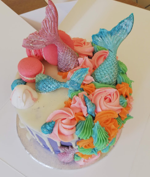Mermaid Cake 2
