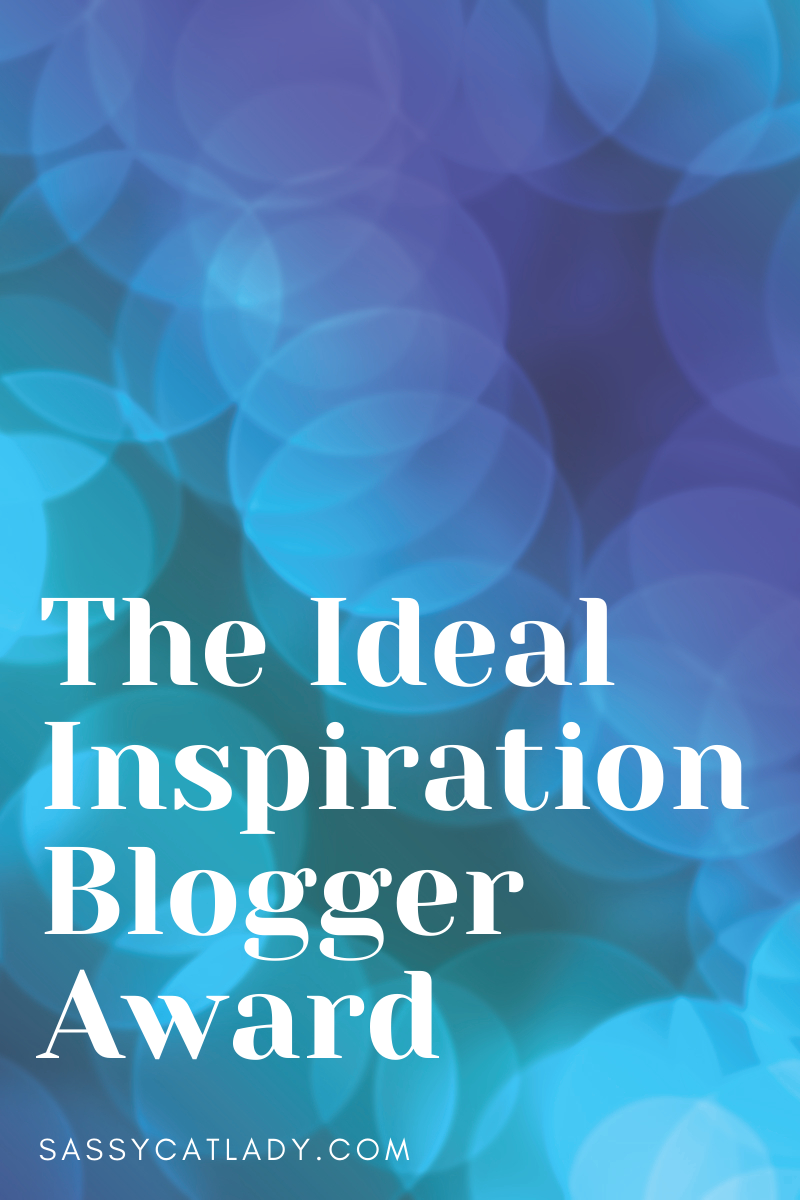 Ideal Inspiration Blogger Award