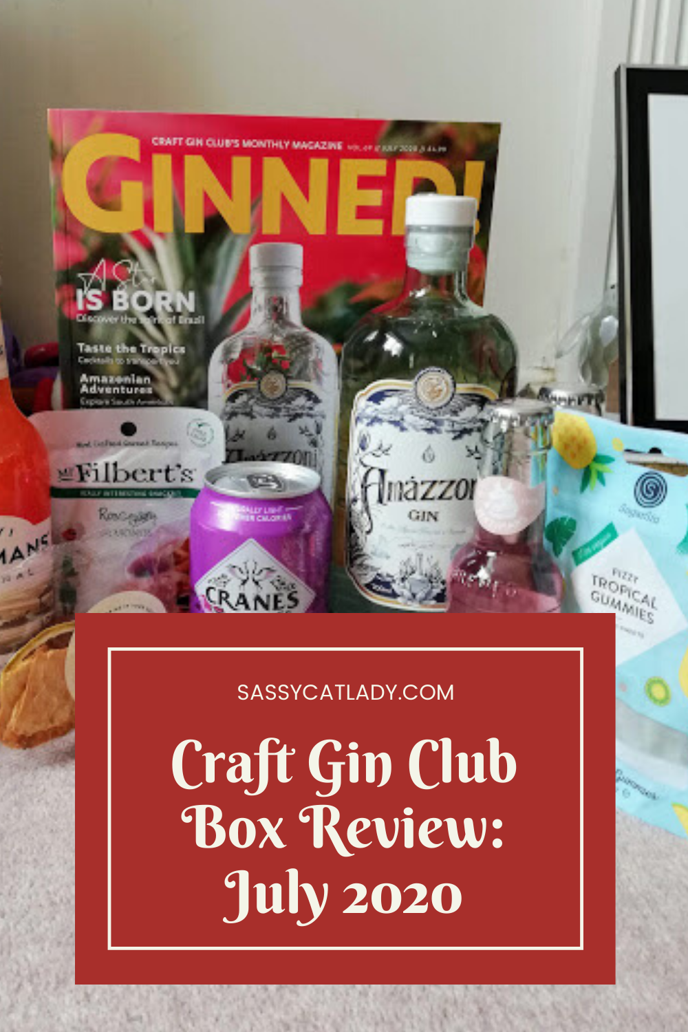 Craft Gin Club Review - July 2020
