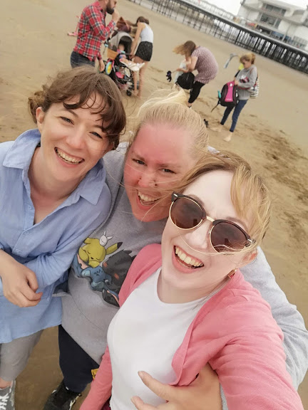 Me, Cheryl & Lillie at the Beach