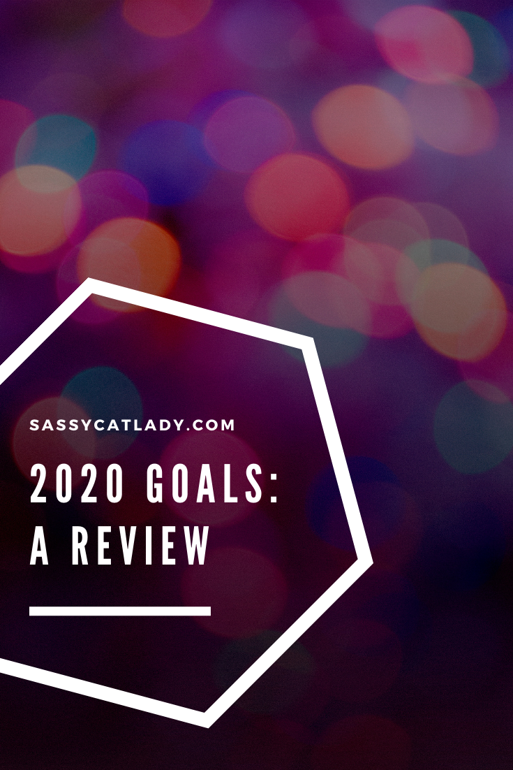 2020 Goals in Review