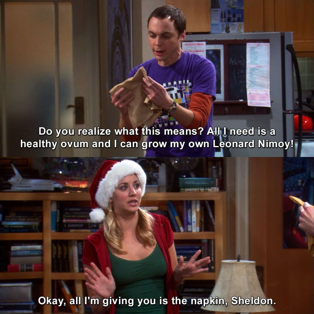 The Big Bang Theory - The Bath Item Gift Hypothesis