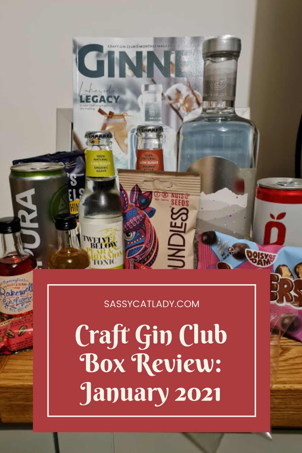 Craft Gin Club Box Review - January 2021
