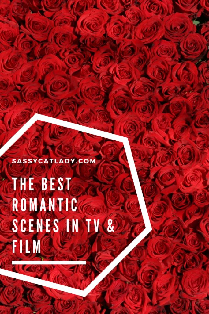 The Best Romantic Scenes in TV & Film Graphic