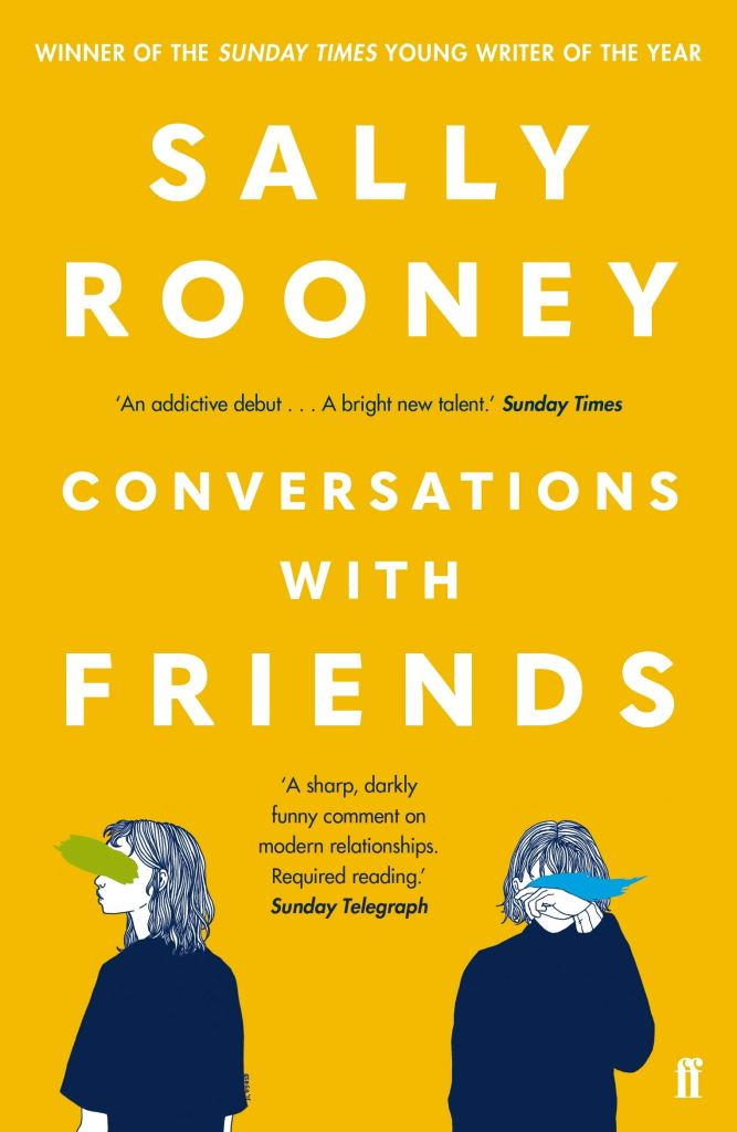 Conversations With Friends by Sally Rooney - Book Artwork
