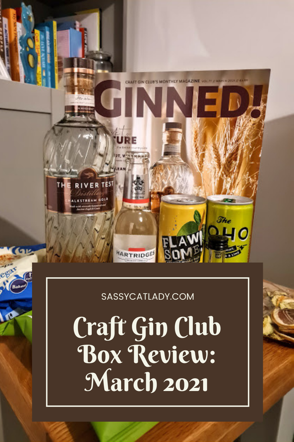Craft Gin Club Review - March 2021 - Pinterest Graphic