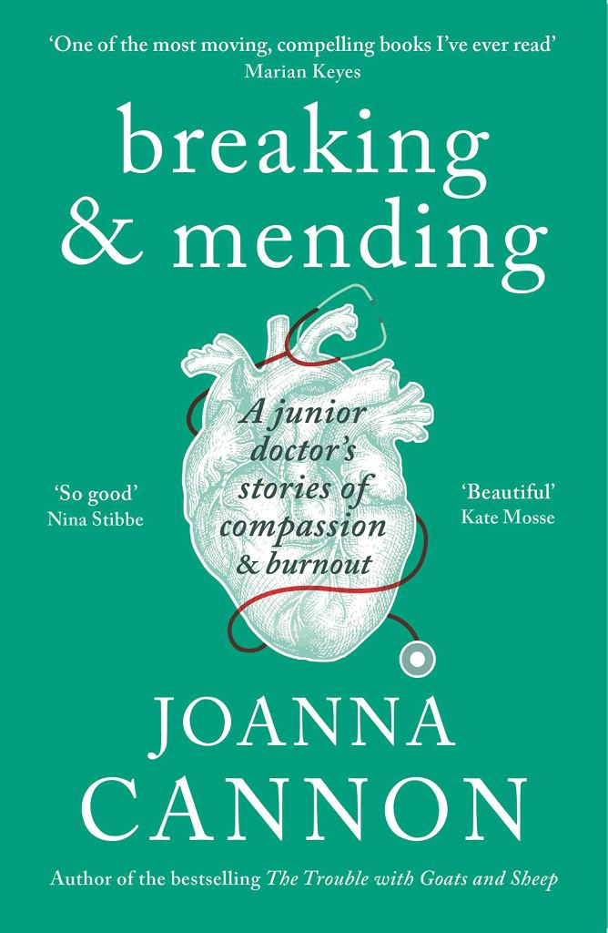 Breaking & Mending by Joanna Cannon - Book Artwork