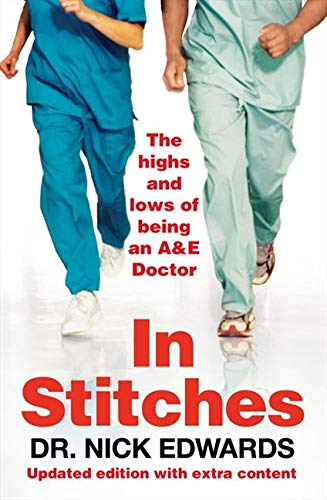 In Stitches by Dr Nick Edwards - Book Artwork