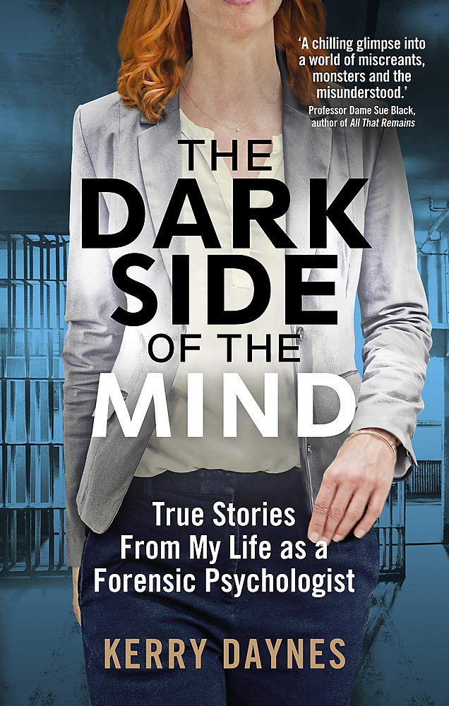 The Dark Side of the Mind by Kerry Daynes book cover.
