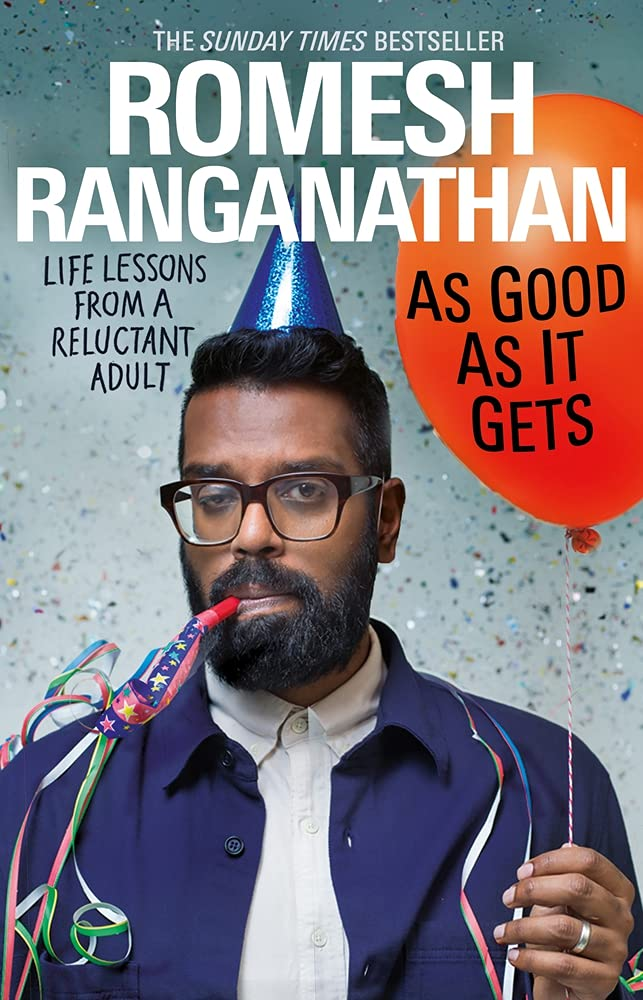 As Good As It Gets by Romesh Ranganathan Book Cover
