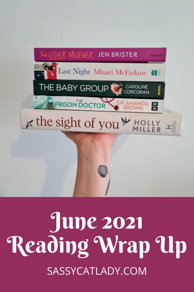 June 2021 Wrap Up Pinterest Graphic