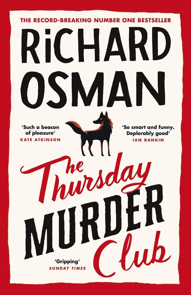 The Thursday Murder Club by Richard Osman - Book Cover