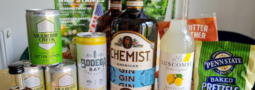Craft Gin Club July Offerings