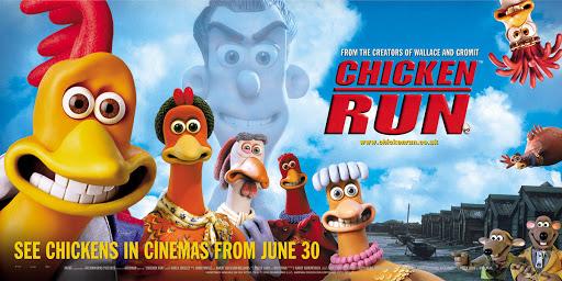 Chicken Run movie poster.