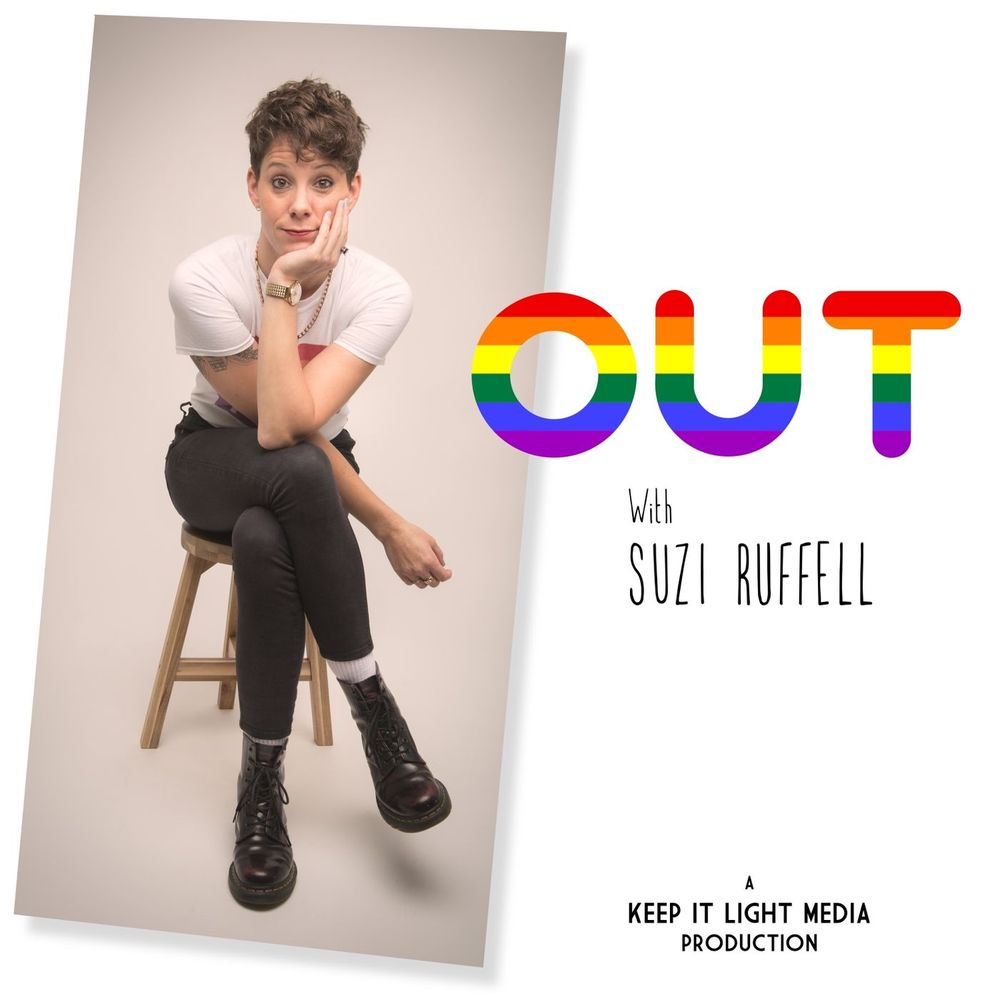 Out With Suzi Ruffell podcast artwork