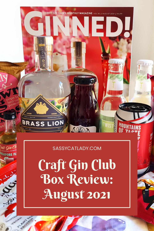 Craft Gin Club - August 2021